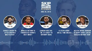 UNDISPUTED Audio Podcast (06.28.19) with Skip Bayless, Shannon Sharpe & Jenny Taft | UNDISPUTED