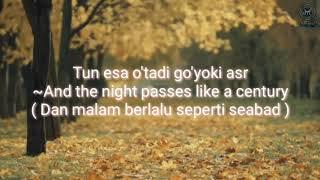Lagu viral TIK TOK - Ummon - Xiyonat - Lyrics Dan Terjemahan