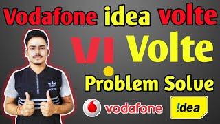How to active vi volte service। Vodafone idea volte problem solution। Vi volte service activation.