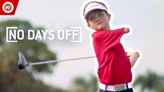 7-Year-Old One Arm AMAZING Golfer
