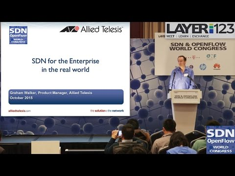 SDN & OpenFlow World Congress 2015: Allied Telesis showcases