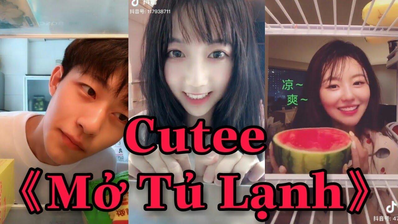 """#1 Trào Lưu Mở Tủ Lạnh Trên nền nhạc """" Show Ra Cho Em Xem """" Cực kì cute    Tik Tok Trung Quốc"""