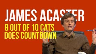 James Acaster on 8 OUT OF 10 CATS DOES COUNTDOWN