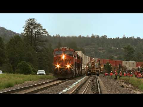 BNSF Summer Intern Hosanna Escalante learns about running a rail network