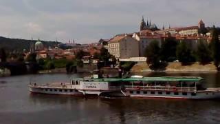 VLTAVA на Влтаве. Колесный пароход. Прага. Praha Vltava.(, 2010-08-04T07:12:18.000Z)