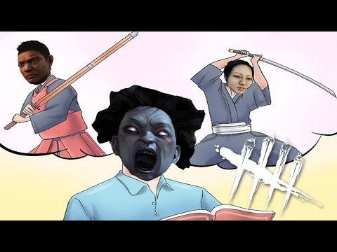 Dead By Daylight: Japanese Lady Penetrates Survivors