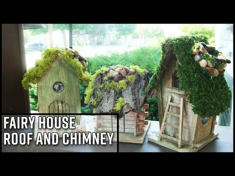 Fairy House Roof and Chimney DIY
