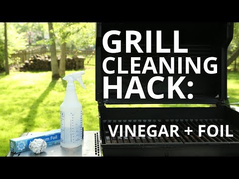 Sears Home Hacks Tested: Cleaning Grill Grates With Vinegar and Aluminum Foil?