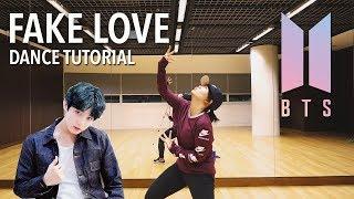 BTS (방탄소년단) 'FAKE LOVE  Dance Tutorial | Full w Mirror [Charissahoo]