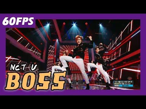 60FPS 1080P | NCT U - BOSS, 엔시티 유 - 보스 Show Music Core 20180303
