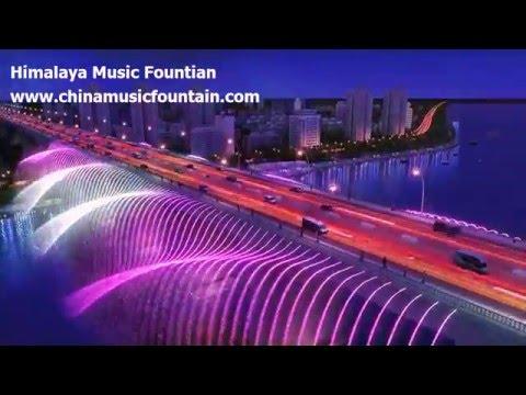 Bridge Fountain Design — By Himalaya Music Fountain