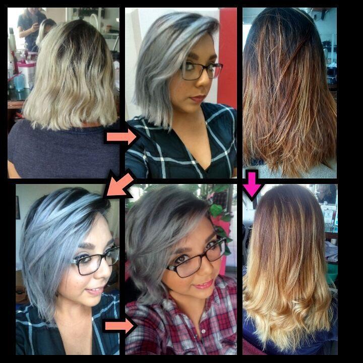 SILVER HAIR / Cabello PLATINADO / BALAYAGE / Cambios de Look