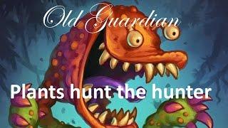Hearthstone S37 Sherazin Miracle Rogue vs Midrange Hunter - Plants hunt the Hunter