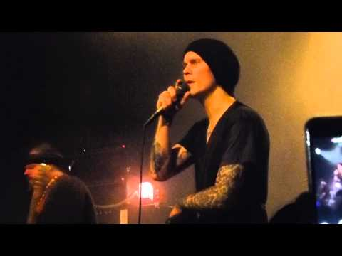 HIM - The funeral of hearts + When love and death embrace live @ Klubi Turku 17.08.2015