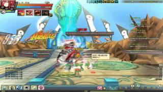 「KRのエルソード」7-4 クリムゾンアベンジャー(KR Elsword 7-4 Crimson Avenger Run)