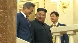 Moon, Kim meet in Pyongyang to discuss framework for ending Korean War