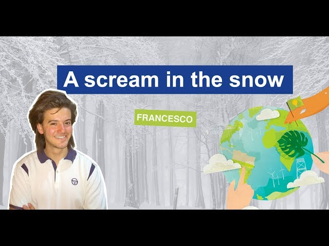 A Scream in the Snow | Francesco Zamiri