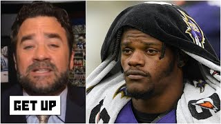Stop trying to make Lamar Jackson a pocket passer, just run the ball! - Jeff Saturday | Get Up