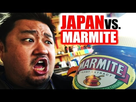 Japanese People Attempt to Eat Marmite