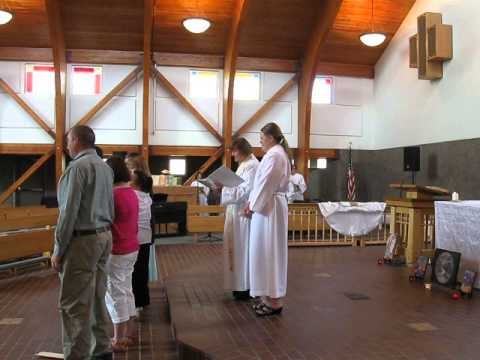 Baptismal Service (Saint Francis Episcopal Church, Rio Rancho, NM)