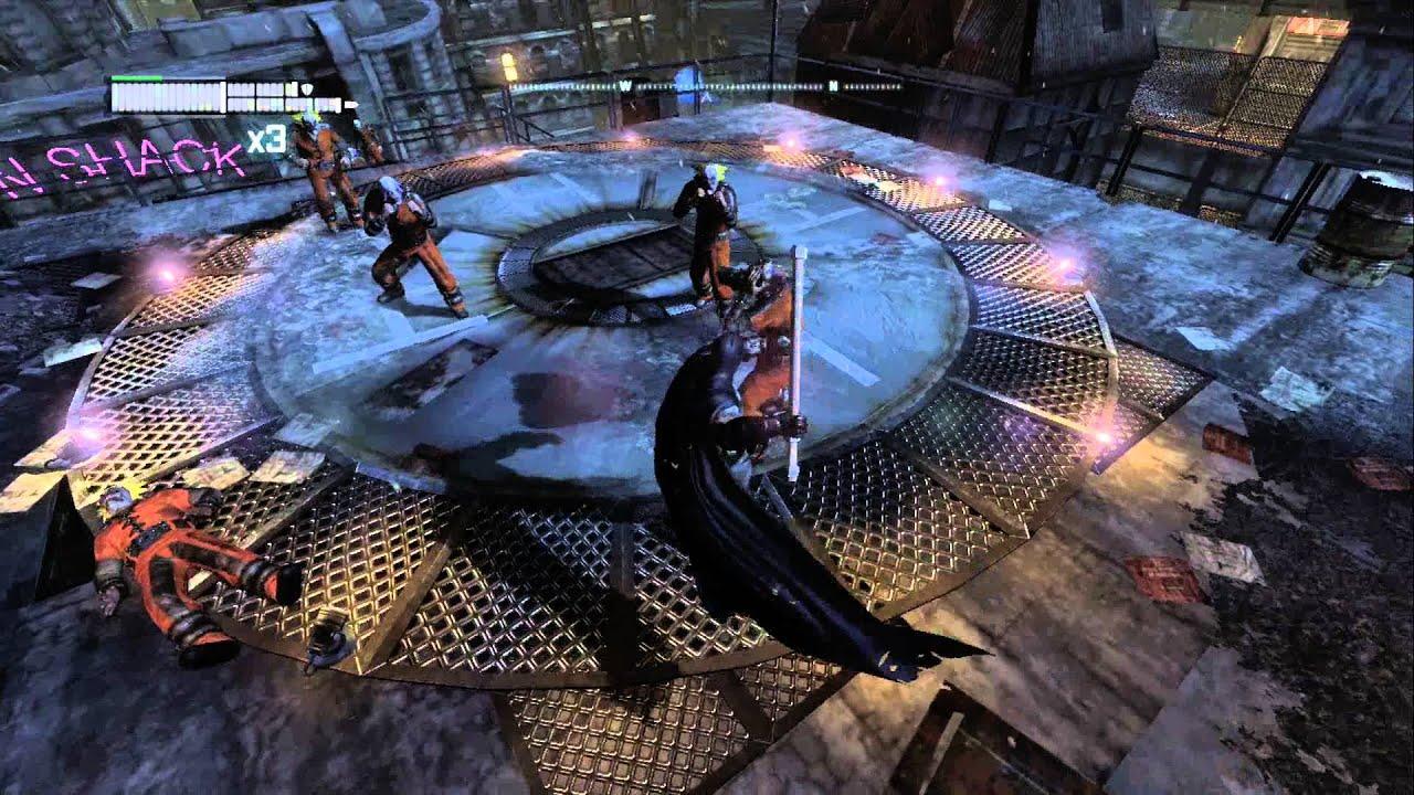 Batman Arkham City Watcher In The Wings Side Mission Azrael