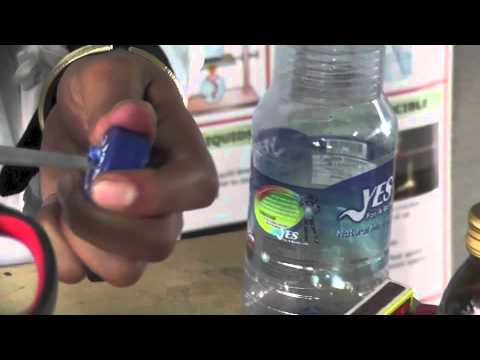 03 Gas collecting bottle for lab activity by Leducation project (Wakuwaku-san project)