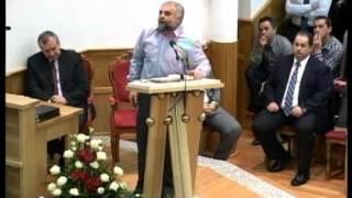 Vladimir Pustan,evanghelizare in Biserica Penticostala Sfanta Treime Bistrita