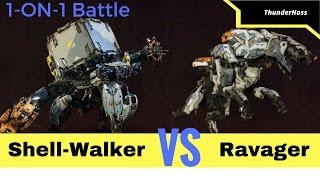 Horizon Zero Dawn - Shell-Walker VS Ravager (Horizon Fight Club #5)