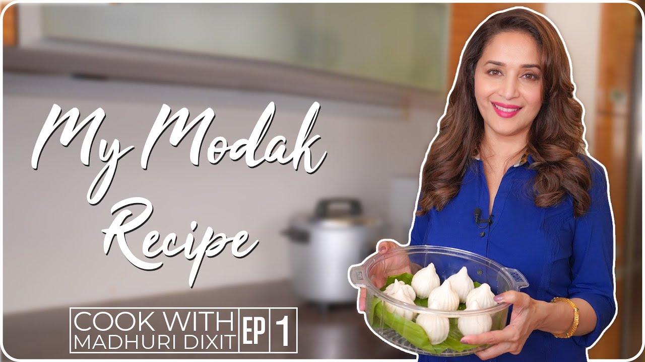 Download Madhuri Dixit making Ukadiche Modak | My Family Recipe | Madhuri Dixit Nene