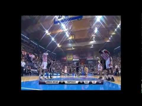 Crvena zvezda vs. Partizan (Serbian Basketball League ● 03/04/2013)