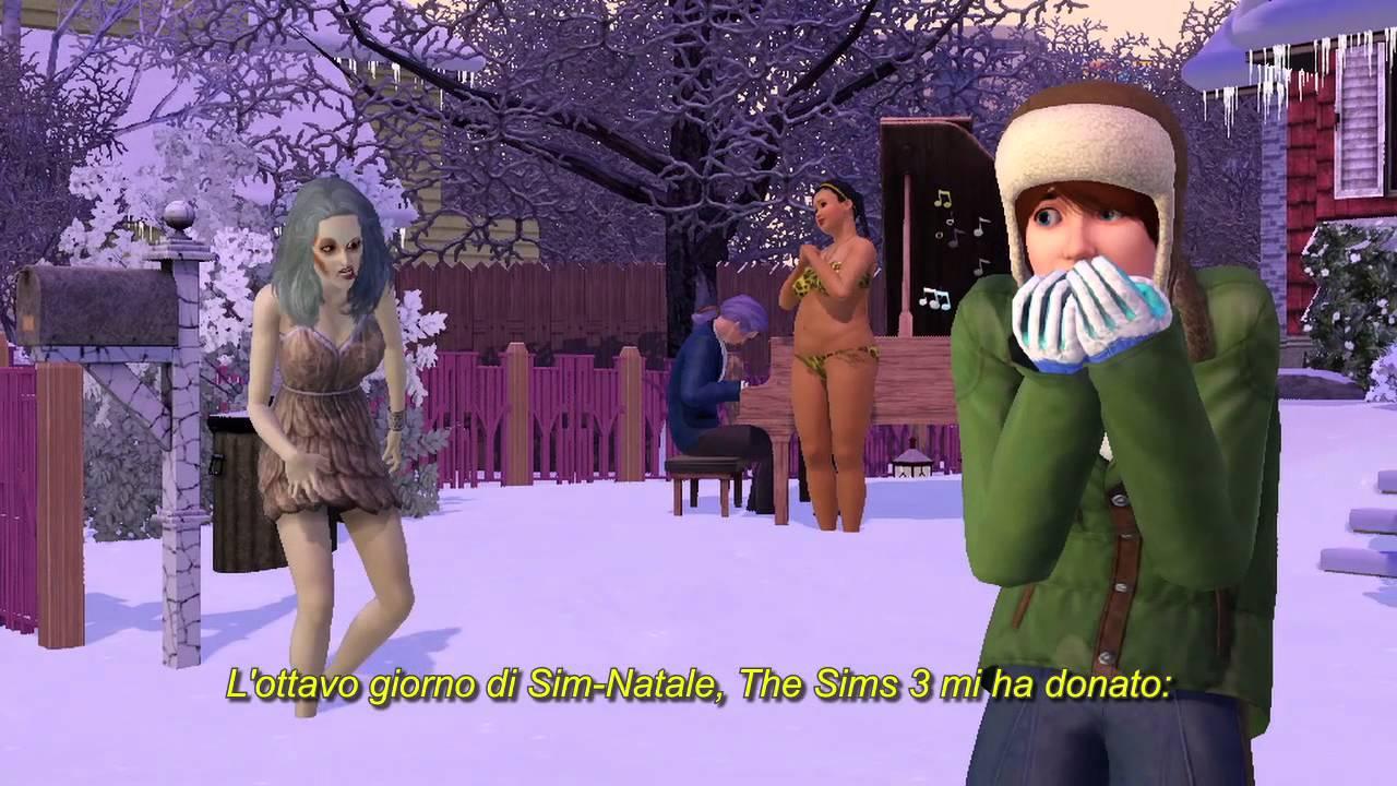 Albero Di Natale The Sims 3.Festeggia Il Sim Natale Con The Sims 3 Video Completo Youtube
