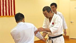 Osaka Shihon 8th Dan JKA Living Textbook of Karate. Master Osaka 8t...