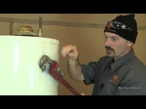How To Replace A Water Heater Temp/Pressure Relief Valve