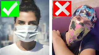 МАСКА ИЛИ РЕСПИРАТОР Все что нужно знать о защите от вирусов