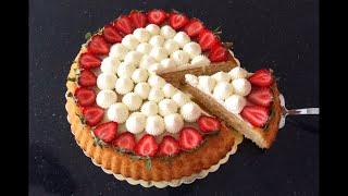 Tadına Doyamayacağınız Nefis Bir Çilekli Tart Kek Tarifi