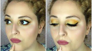 Maquillaje abeja maya | lu.MakeUpchannel
