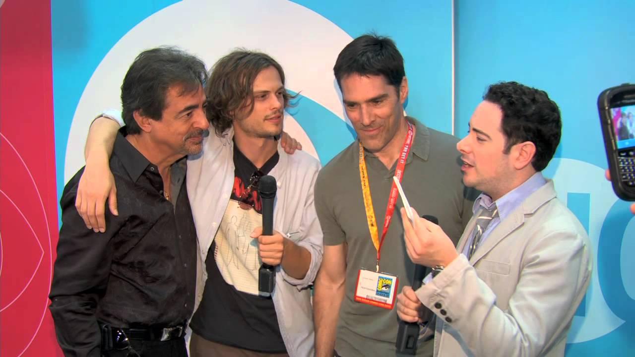 Thomas Gibson, Joe Mantegna and Matthew Gray Gubler spill ...  Thomas Gibson, ...