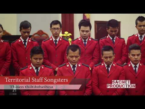Thisenah thiltihtheihna (Power in the Blood) - Territorial Staff Songsters (OFFICIAL)