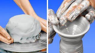 Mesmerizing Pottery Making    Satisfying DIYs And Crafts
