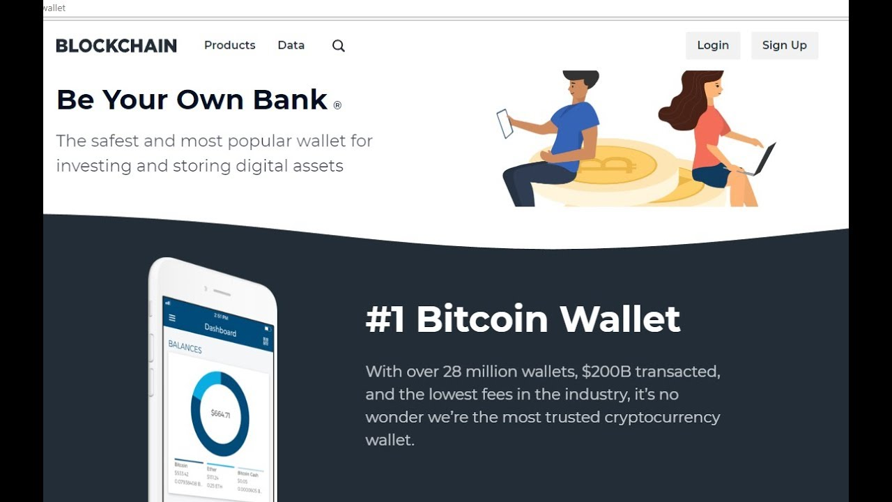 Blockchain wallet review - Best bitcoin wallet with lowest fees