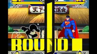 [M.U.G.E.N] Mr.Game & Watch vs Superman