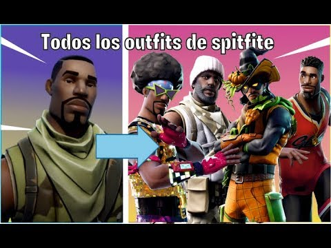🔴 TODAS LAS SKINS DE SPITFIRE ||TODOS LOS OUTFITS DE FORTNITE BATTLE ROYALE 🔴