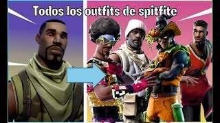 🔴 ALL SPITFIRE SKINS ALL FORTNITE BATTLE ROYALE OUTFITS 🔴