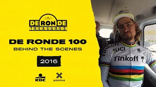 #RondeTreasures: De Ronde 100 - Behind the scenes