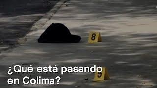 Colima es primer lugar en homicidios en México - Despierta con Loret