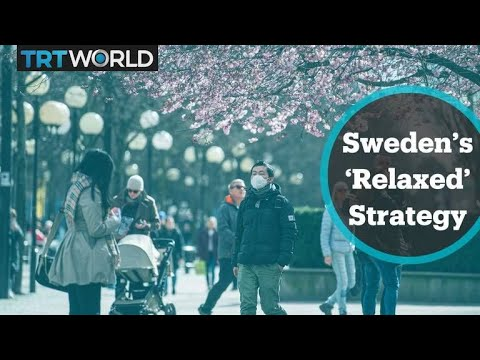 Stockholm residents out on streets despite coronavirus fears