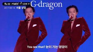 [Gdragon] 지드래곤 모태 월드투어 - I LOVE IT(너무 좋아) 안무 하이라이트