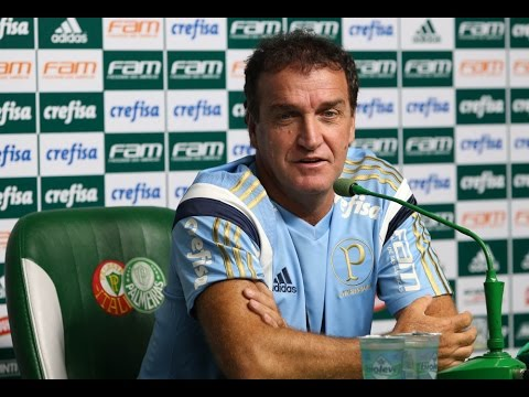Coletiva do técnico Cuca - Palmeiras 1 x 0 Internacional