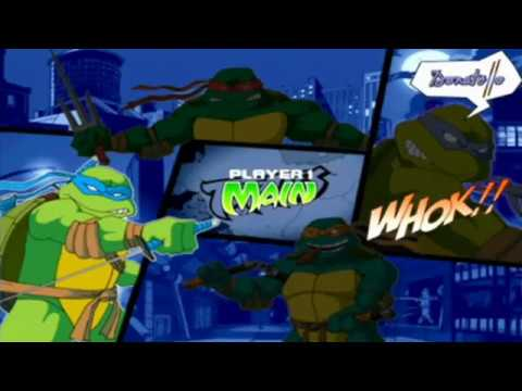 Ninja Turtles Demo - Mario Kart Bonus Disc