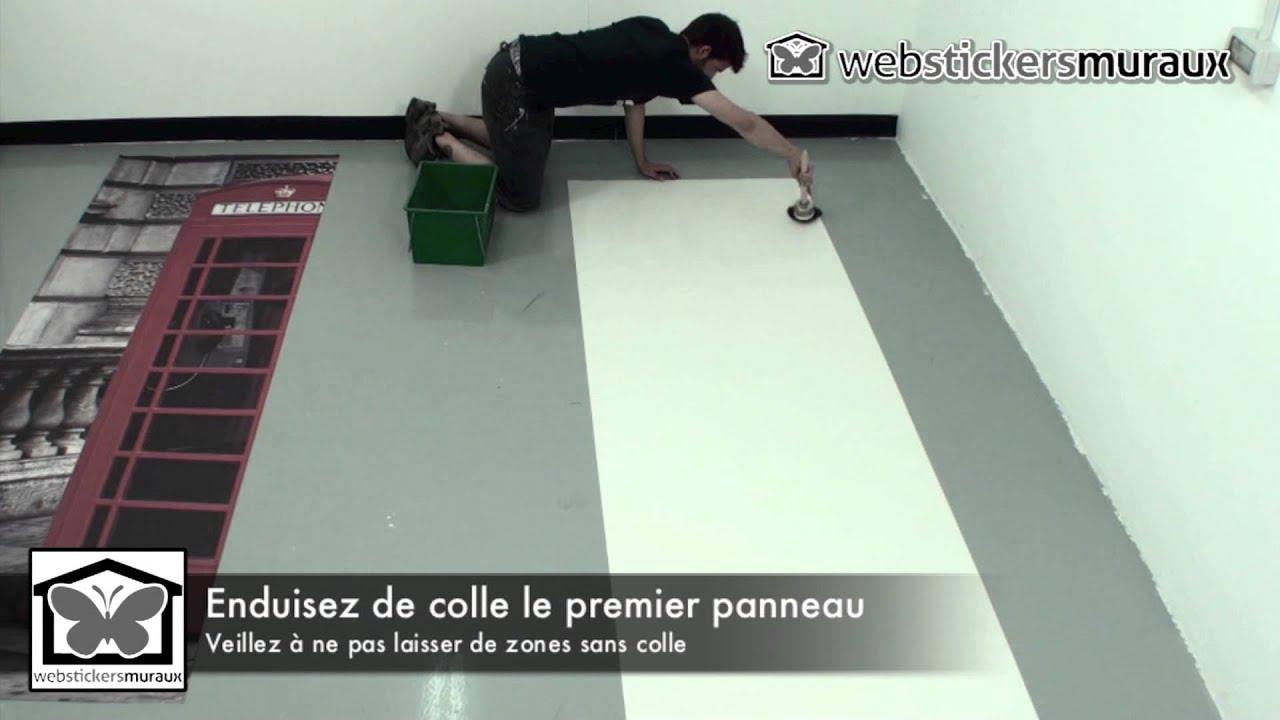 Papier Peint Sur Toile Instructions De Pose Hd Youtube